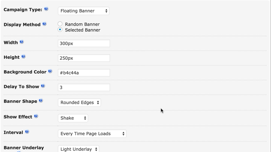 Floating Ad Example for CM Ad-Changer WordPress Plugin