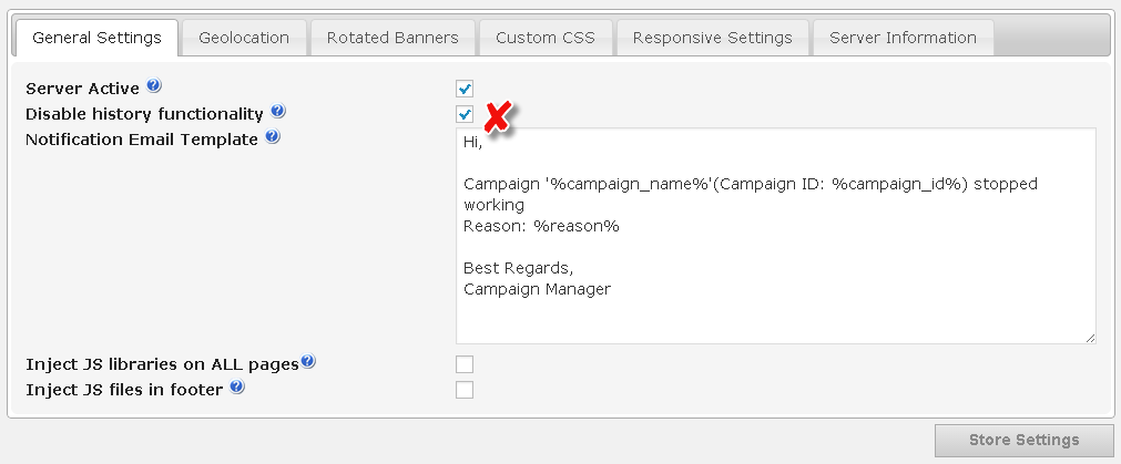 solving performance issues on CM Ad changer plugin for wordpress